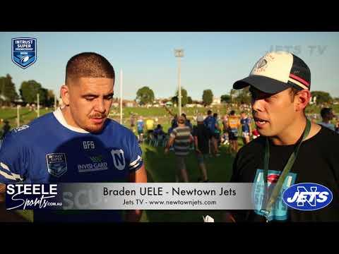 Post Match Interview - Rnd 5 ISP 2018 - Newtown Jets Braden UELE