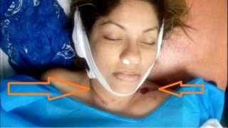 Repeat youtube video Muerte de Sharon La Hechicera atropellada en Santa Elena, polemica de su muerte.