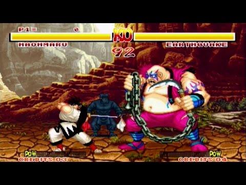 Samurai Shodown (Neo Geo AES) gameplay