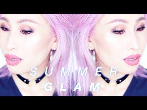 SUMMER GLAM MAKEUP TUTORIAL ft Jaclyn Hill x Morphe Palette | Smokey Eye for Hooded Eyes & Beginners thumbnail