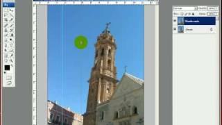 Photoshop - Come correggere le linee cadenti in una foto - tutorial italiano