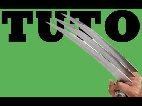 Comment faire les griffes de wolverine how to make wolverine claws youtube - Se faire livrer de l eau ...