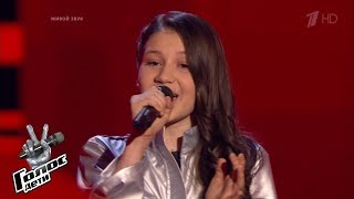 """Mariam Galagonia """"Je t'aime"""" - Blind Auditions - The Voice Kids Russia - Season 6"""