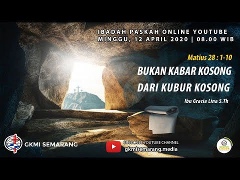 Ibadah Paskah GKMI Semarang 2020