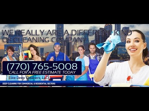 Professional Deep Cleaning Services in Atlanta