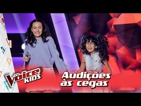 Maria Clara e Mariana cantam &39;Trevo Tu&39; na Audição – 'The Voice Kids Brasil'  3ª Temporada