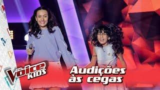 maria clara e mariana cantam trevo tu na audição – the voice kids brasil 3ª temporada