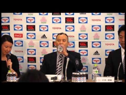 Eddie Jones Press Conference Nov 29 2013/エディー・ジョーンズヘッドコーチ記者会見