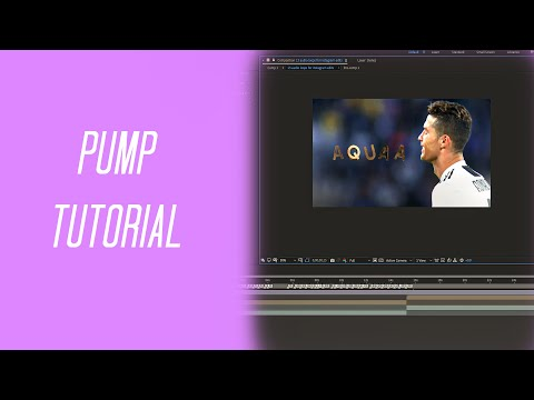 My pumps!! // After Effects Pump Tutorial