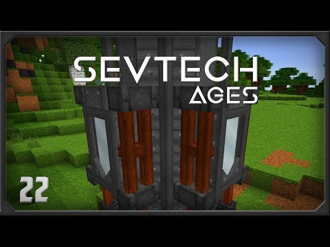 SevTech Ages EP22 Modular Machines Chemical Mixer + Immersive Solar Tower