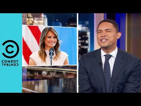 'Melania Is Leaving Donald Trump' | The Daily Show With Trevor Noah