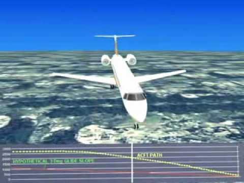EMB 145 varando a pista /// Silvio Santos no comando..
