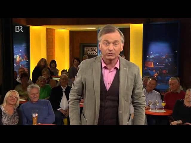 """Christian Springer bei """"Kabarett aus Franken"""" (03.12.15)"""