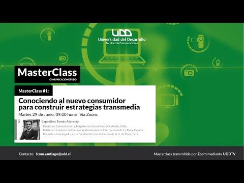 Masterclass | Conociendo al nuevo consumidor para construir estrategias transmedia