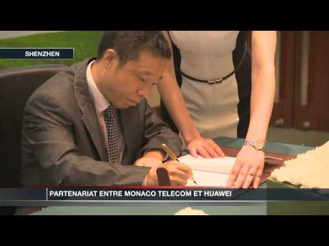 Partenariat entre Monaco Telecom et Huawei