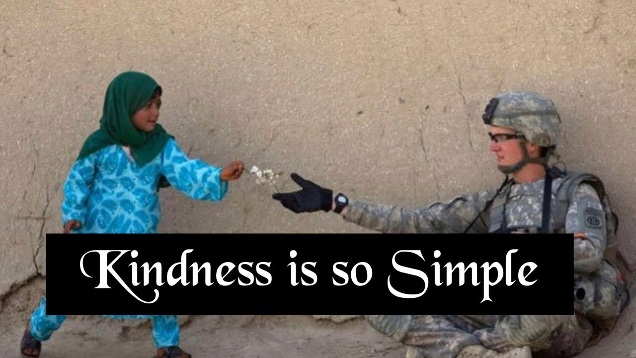 KINDNESS IS SO SIMPLE -Random Acts of Kindness - Kindness Boomerang -2020