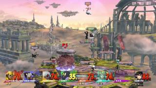 Test Chamber - 8-Player Super Smash Bros. Wii U, Part 4