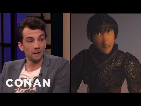 """Jay Baruchel: """"How To Train Your Dragon: The Hidden World"""" Is Very Moving - CONAN on TBS"""