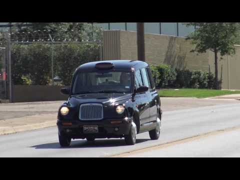 Test Drive of a 2003 London Executive Taxi Diesel powered in Texas