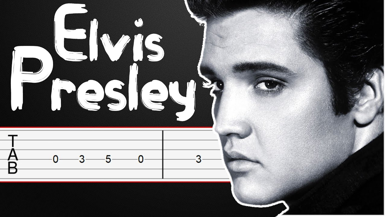 In The Ghetto - Elvis Presley Guitar Tabs, Guitar Tutorial, Guitar Lesson