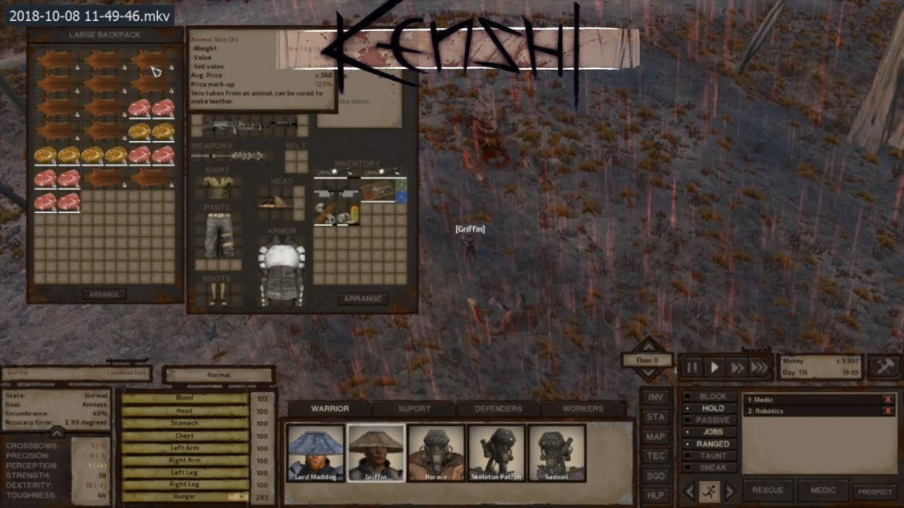 Kenshi mods not showing up