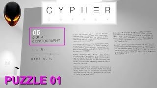 CYPHER 6 Digital Cryptography Puzzle 01