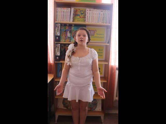 Изображение предпросмотра прочтения – АннаЖелязко читает произведение «Ты запой мне ту песню, что прежде…» С.А.Есенина