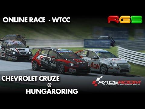 RaceRoom RE   Chevrolet Cruze   Hungaroring   Online Race