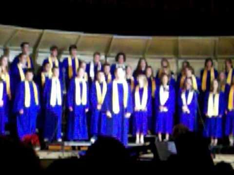 Panama Central School Senior High Chorus singing O Sifuni Mungu