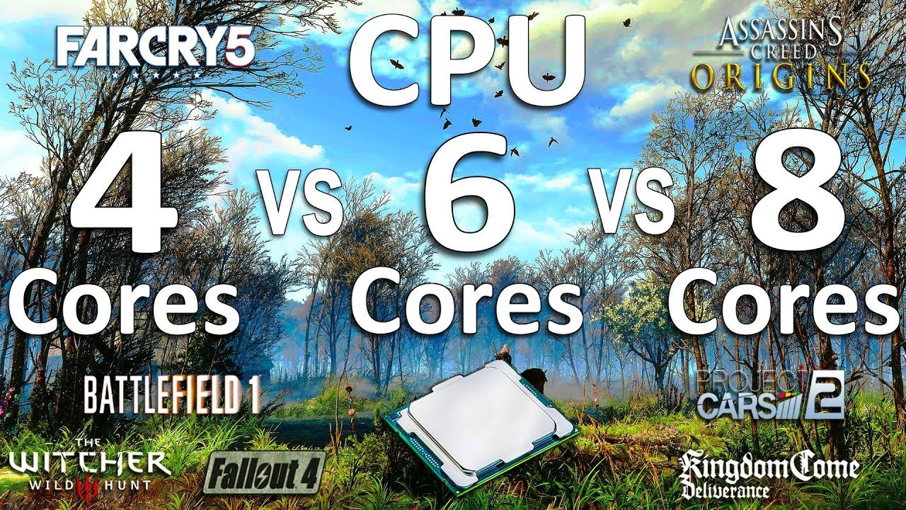 How Many CPU Cores Need For Gaming?