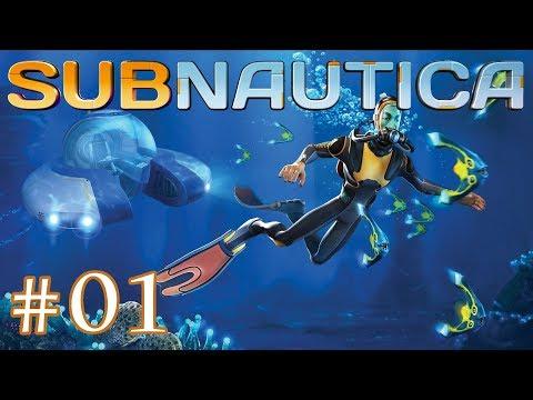 Subnautica - Part 01: It's a dangerous place we've come across.