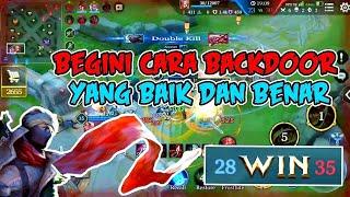 EPICK BACKDOOR!!!MURAD GAMEPLAY GARENA AOV INDONESIA