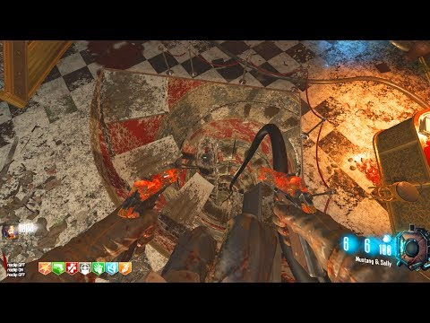 KINO DER TOTEN + CHEESECUBE MAP!!! - BLACK OPS 3 ZOMBIE CHRONICLES DLC 5 GAMEPLAY!