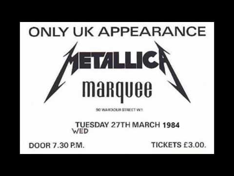 METALLICA .Live @ The Marquee club,London,UK.!!!!FIRST UK SHOW EVER!!(restored & remastered)