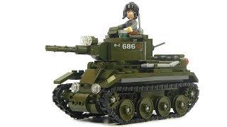 Sluban WW2 M38-B0686 tank BT-7