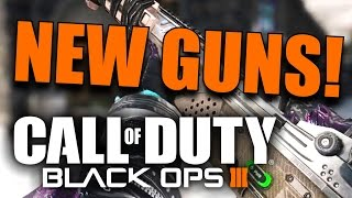 Black Ops 3: 5 NEW WEAPONS NOW AVAILABLE! New Guns, Camos, and Gear! (Black Market Update)