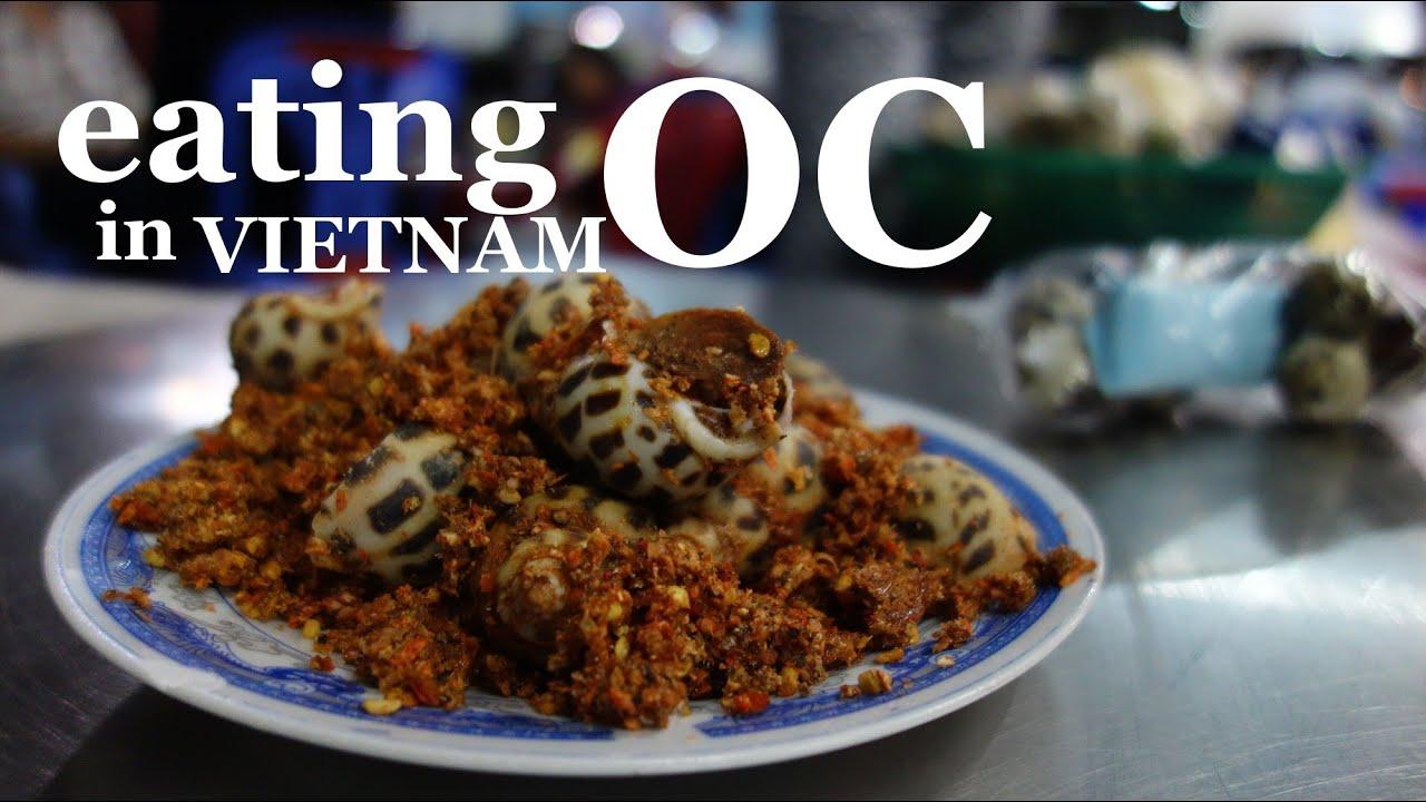 Image result for Eat snails vietnam