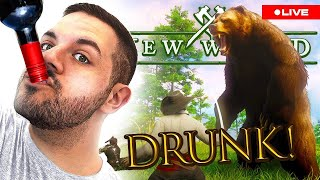 🔴 LIVE - New World, but I'm drunk...WITH FRIENDS