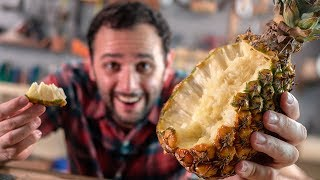 Você comeu abacaxi errado a vida inteira? Nós testamos!