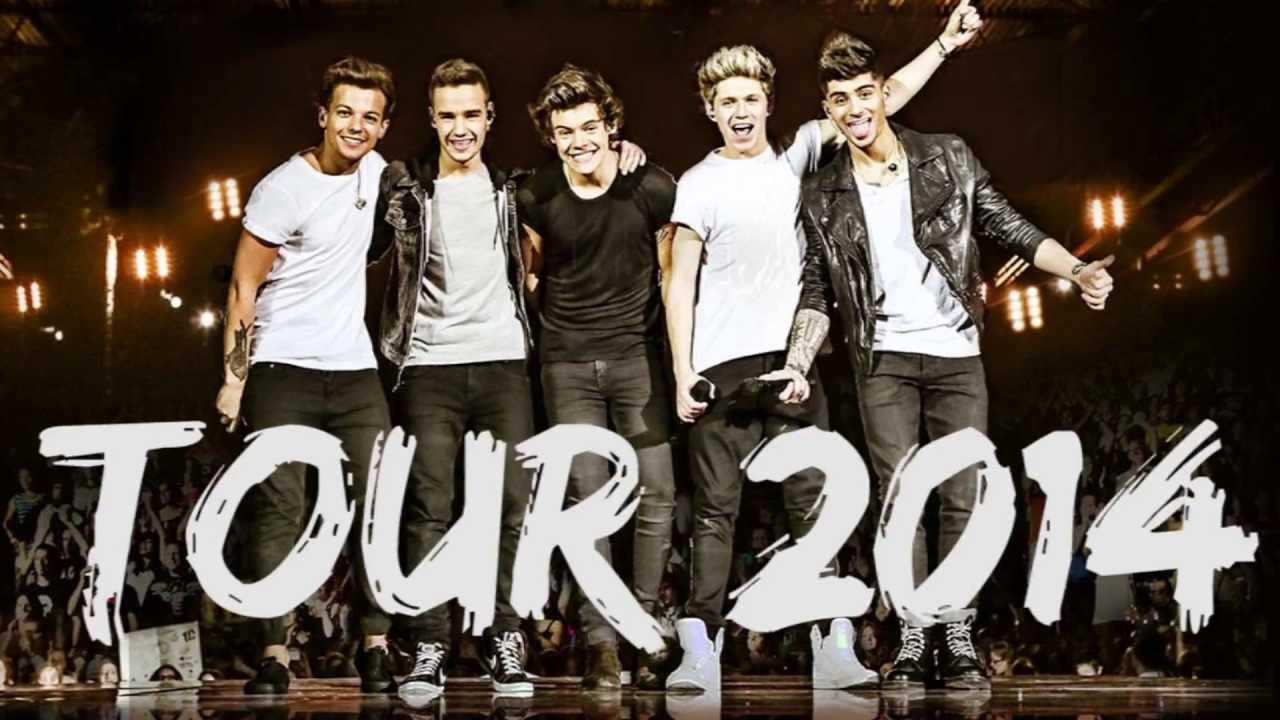 Up All Night Live Tour - One Direction ( part 4) - YouTube