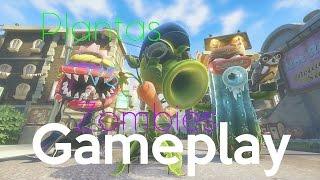 Plantas vs Zombies : Garden Warfare - Gameplay - Español - ¡Partidas del demonio!