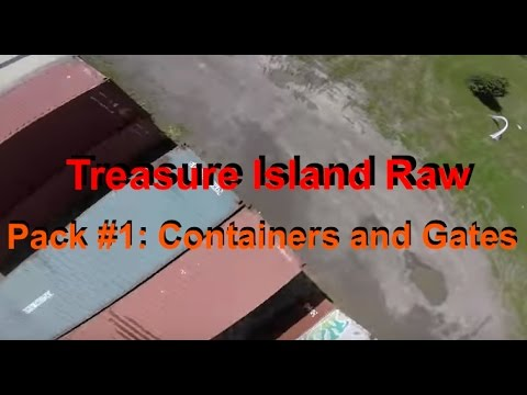 Treasure Island Raw: Pack #1 - Containers and Gates