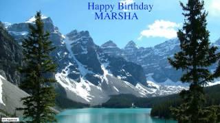 Marsha  Nature & Naturaleza - Happy Birthday