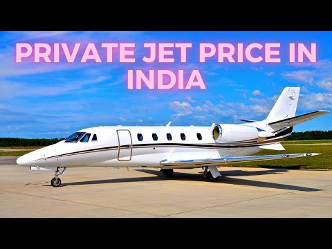 Private Jet Cost in India || Cheapest Jet in the World || Charter Plane.