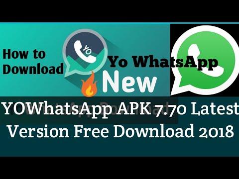 yowhatsapp download 2018 old version
