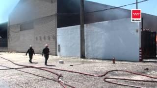 25 06 2012 Incendio nave industrial Cubas de la Sagra