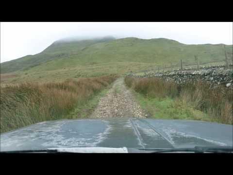 Mid Wales Green laning trip 18.12.16 Dolgellau to Tywyn with Keltech