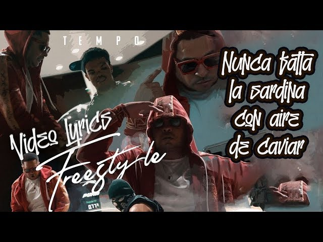 FREESTYLE - TEMPO (OFFICIAL VIDEO LYRICS)