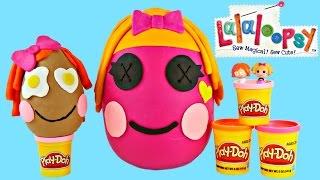 Huge Lalaloopsy Surprise Eggs ★ Building Play Doh Toy Giant Egg Surprises! Enormes Huevos Sorpresa