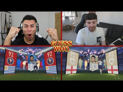 THESE PACKS ARE CRAZY 😱 WC GUESS WHO FIFA vs HomelesPenguin 🔥